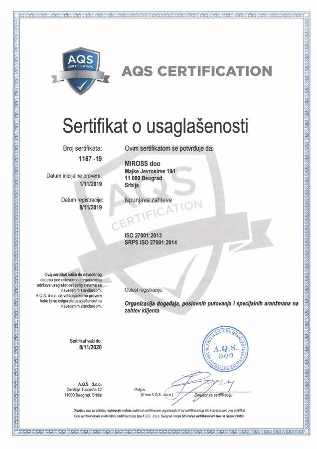 ISO 27001 i GDPR, bezbednost podataka bez kompromisa