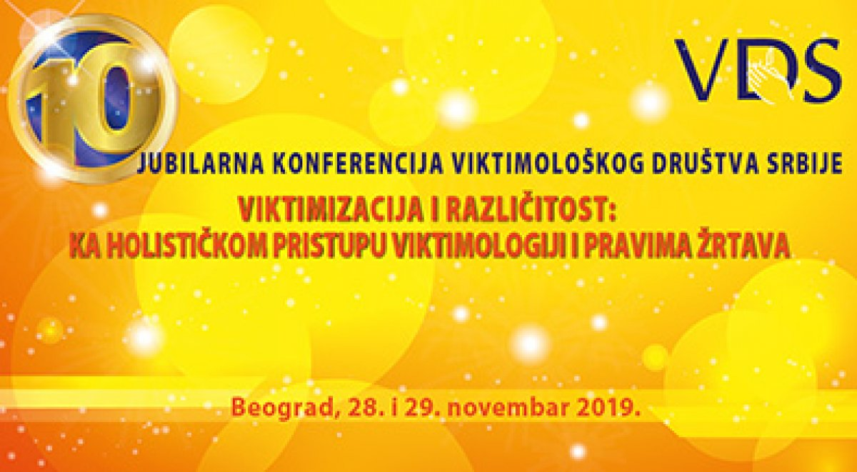 X Annual Conference of the Victimology Society of Serbia