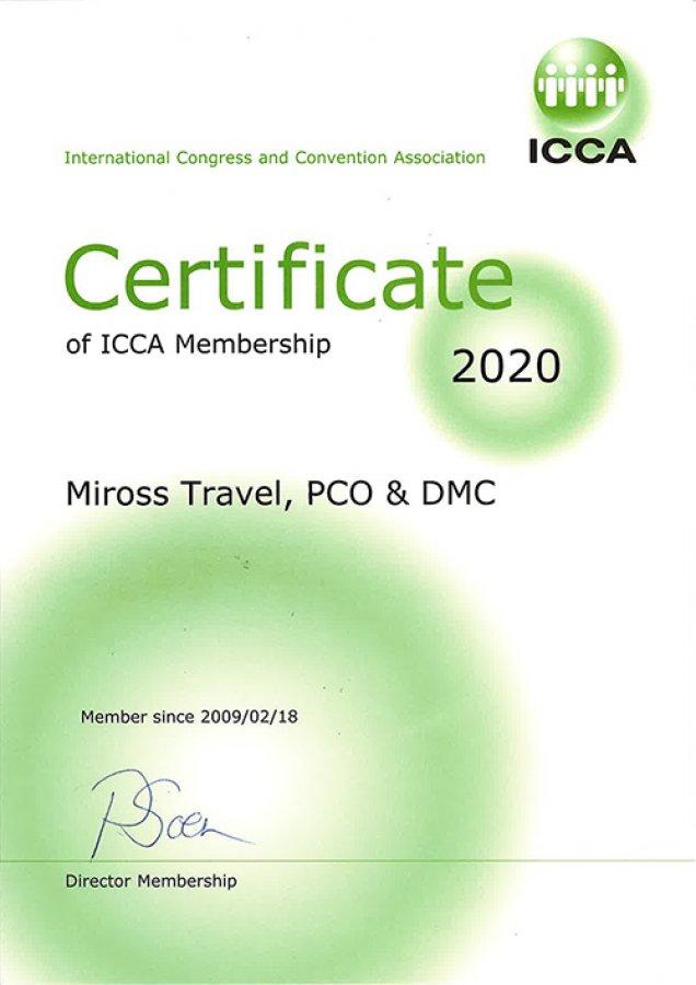 10+ years of ICCA membership